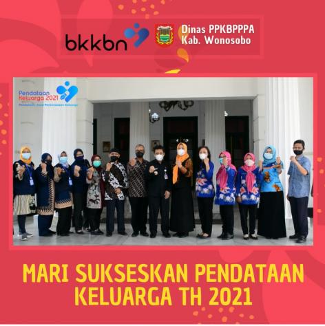 Mari sukseskan pendataan keluarga th 2021